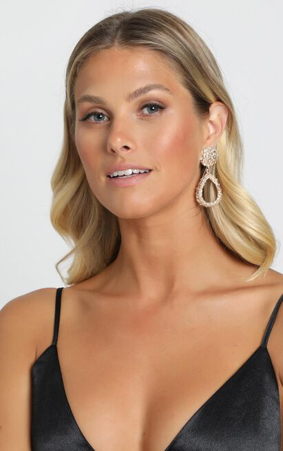 Desert Road Drop Earrings In Gold, , hi-res image number null
