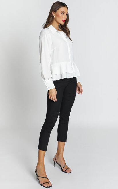 Strong Ambitions top in white - 20 (XXXXL), White, hi-res image number null