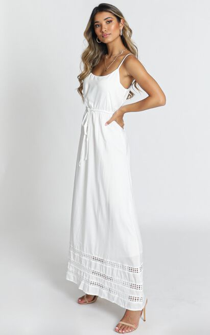 Roses For You Dress in white - 18 (XXXL), White, hi-res image number null