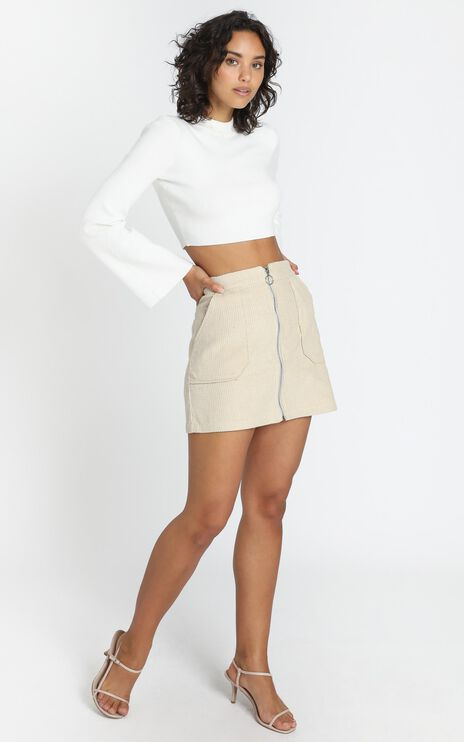 Marling Skirt in Beige