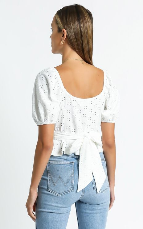 Beth Top in White