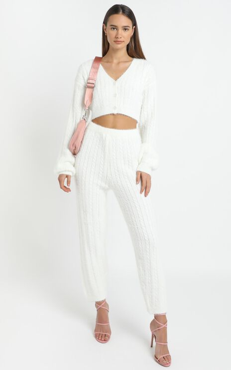 Eevi Two Piece Set in White