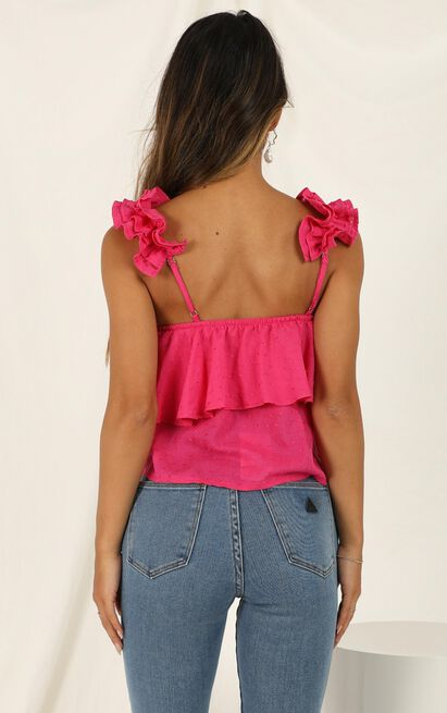Whole Hearted Top in hot pink - 16 (XXL), Pink, hi-res image number null