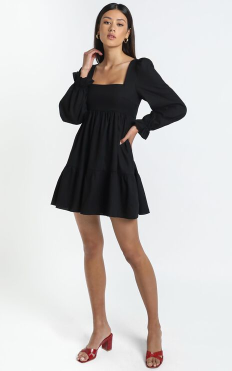 Acacia Dress in Black