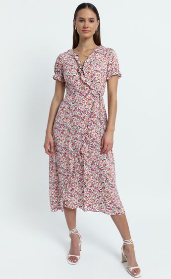 Affinity dress in Pink Floral