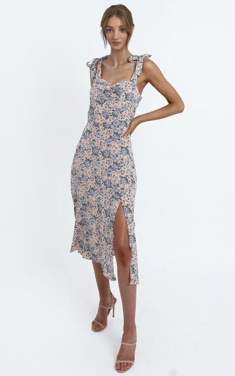 Akiva Dress in Blush Floral