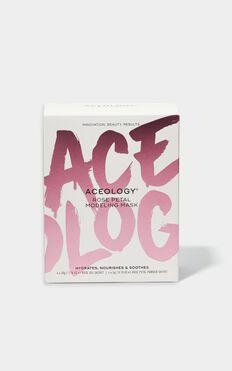 Aceology - Rose Petal Modeling Face Mask (4 Pack)