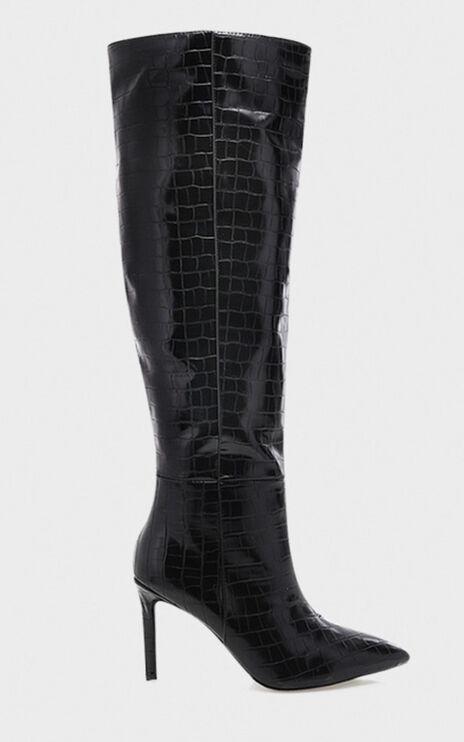 Billini - Naveen Boots in black croc
