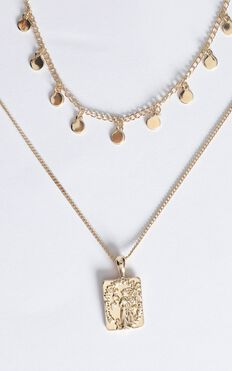 Harmony Layered Necklace in Gold