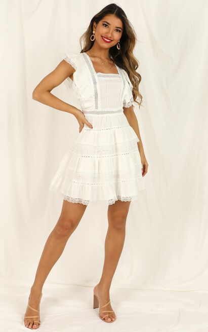 Dream For Days dress in white lace - 16 (XXL), White, hi-res image number null