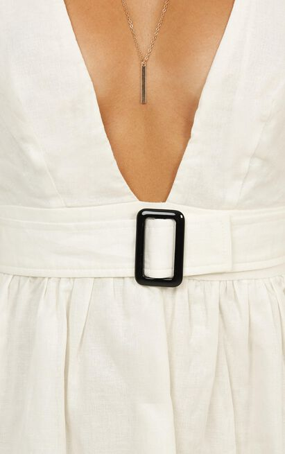 Valley Run Dress in white, White, hi-res image number null