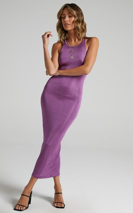 Lioness - Everlast Dress in Dark Orchid