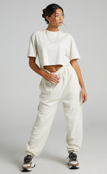 Lee - Relaxed Jogger in Unbleached