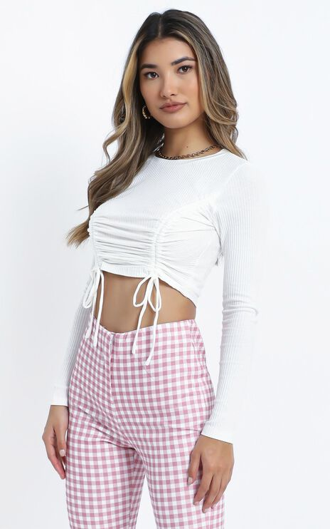 Agathe Top in White