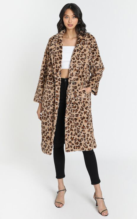 Gigi Coat in Leopard