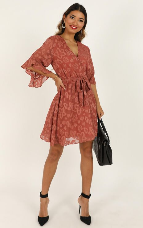 Everyday People Dress in Blush