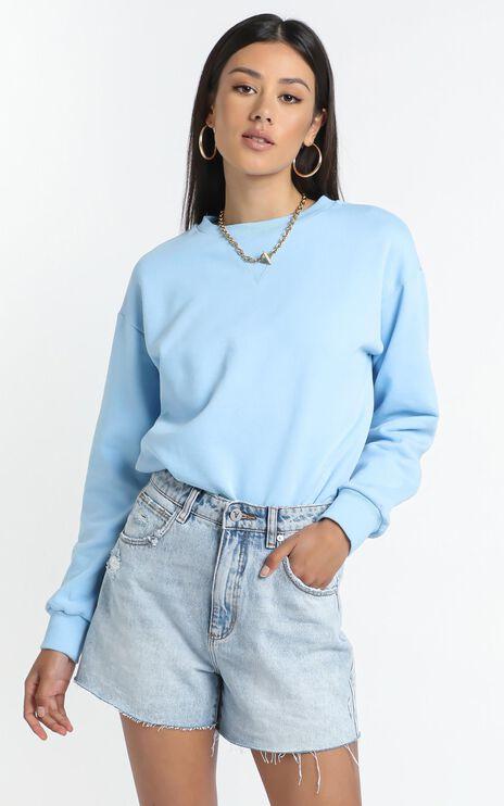 Lourdes Sweatshirt in Blue