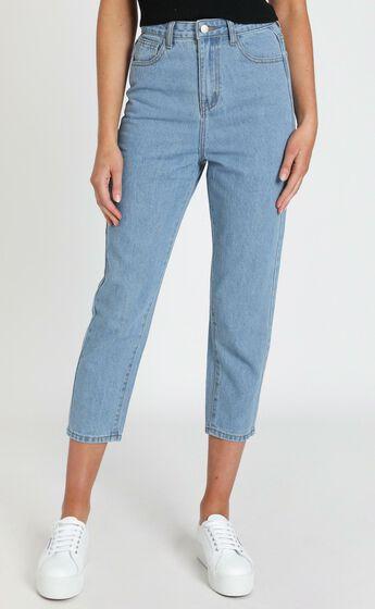 Bec Jeans In Light Vintage Wash Denim