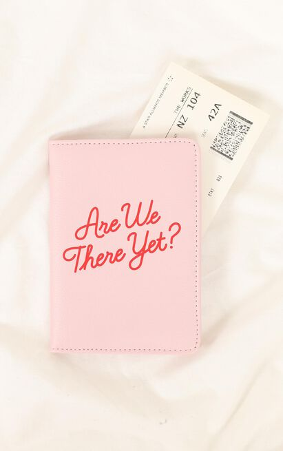 YES Studio - Passport Cover Are We There Yet? , , hi-res image number null