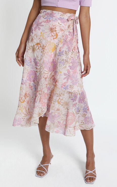 Neala Skirt in Vintage Floral