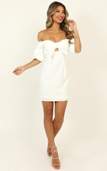True Test dress in white - 16 (XXL), White, hi-res image number null