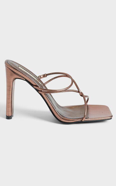 Billini - Emmah Heels in Bronze Scale