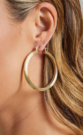 Luv AJ - Cher Hoops in Gold