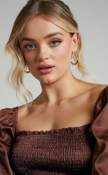 Tonya Earrings in Gold