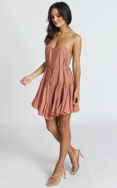 Orla Mini Dress In Rose