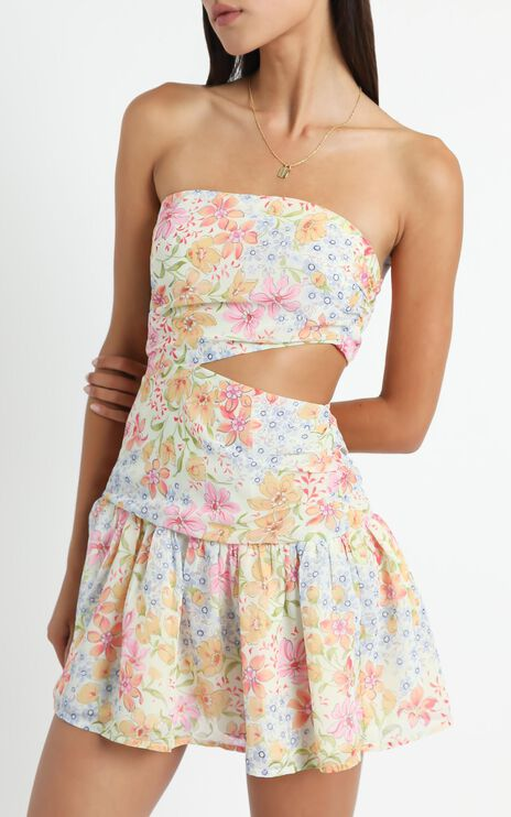 Sazerac Dress in Multi Floral