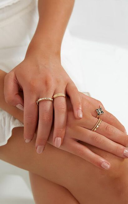 Your Remedy Ring Set In Gold, , hi-res image number null