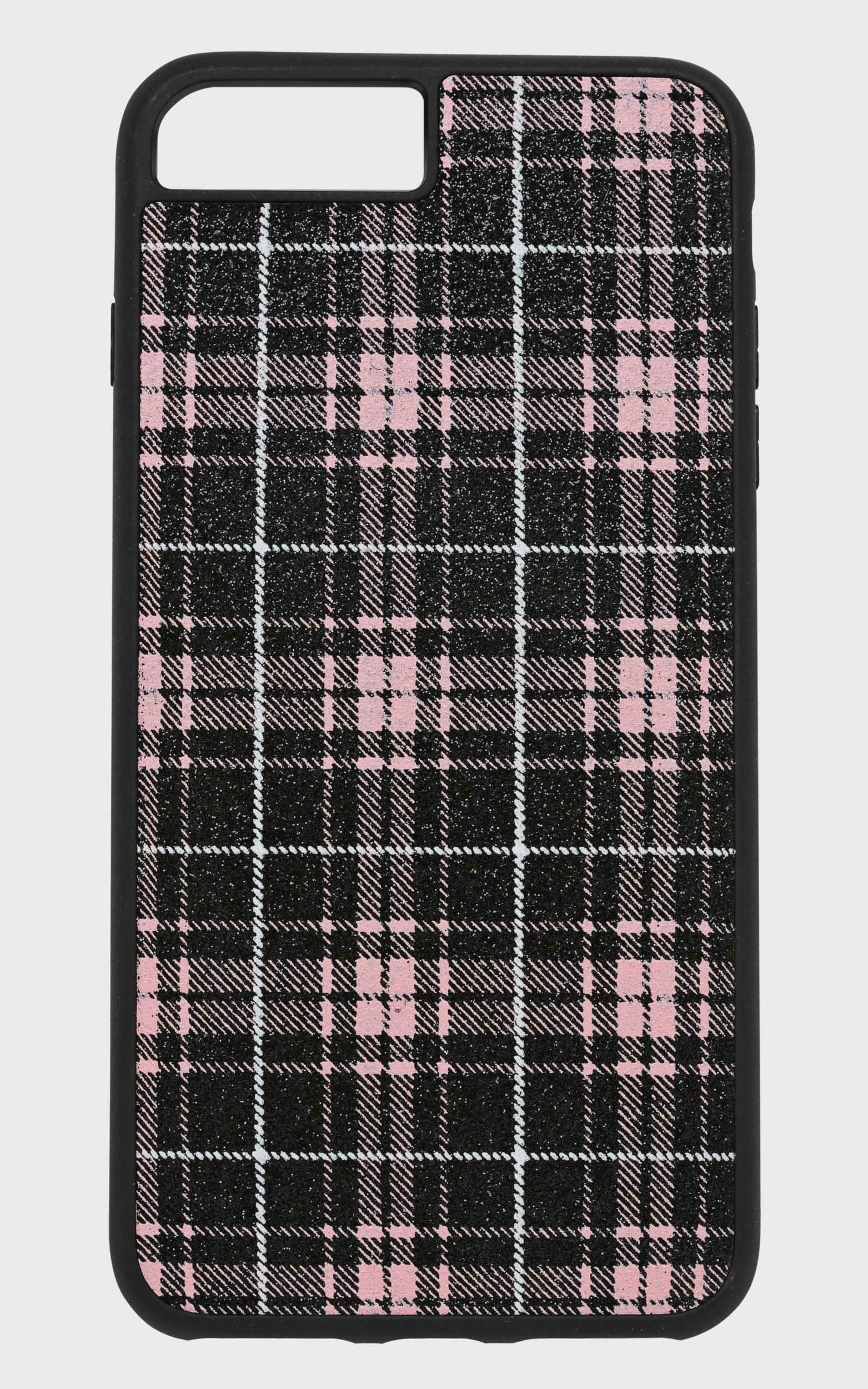 Georgia Mae - The Pink Tartan Iphone Case  - iXS, Pink, super-hi-res image number null