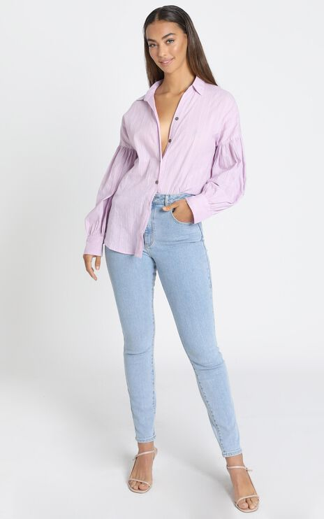 Lennon Shirt in Lilac