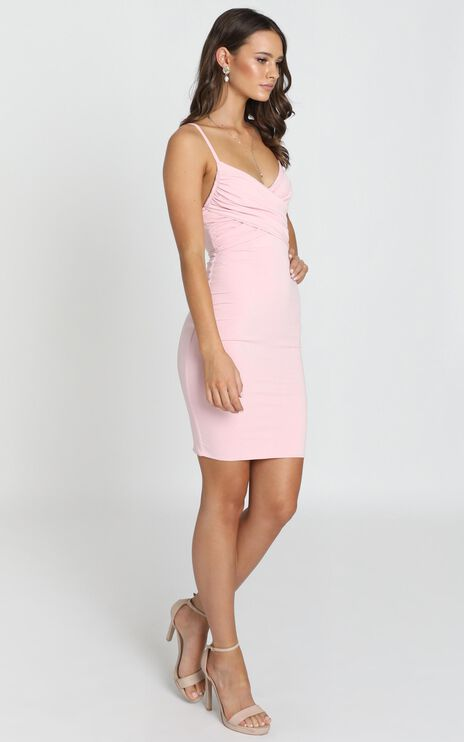 Happy Lies Dress In Pink