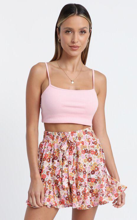Stop Pretending Shorts in Sahara Ditsy Floral Print