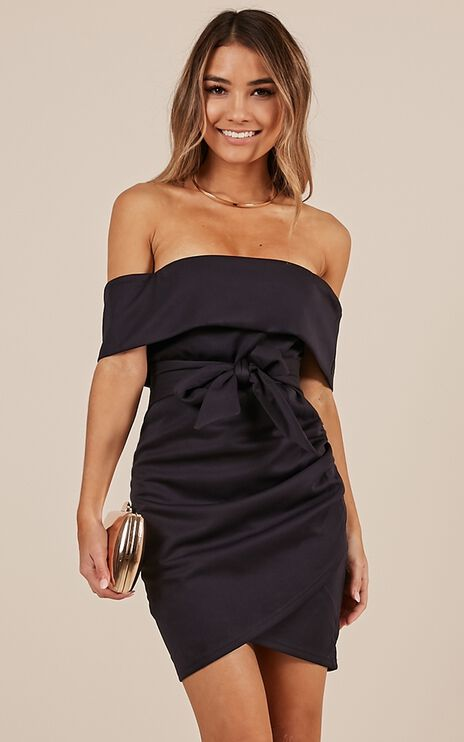 Look To The Future Dress In Navy