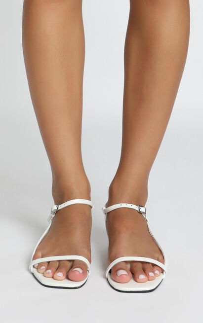 Therapy - Remi Sandals in white - 5, White, hi-res image number null