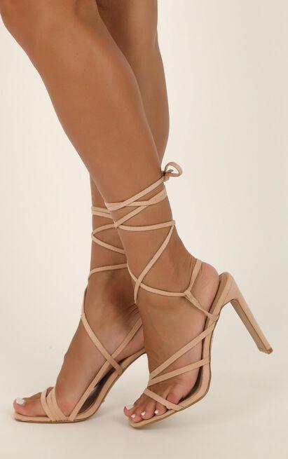 Billini - Dekker heels in blush micro - 10, Blush, hi-res image number null