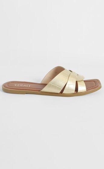 Verali - Glam Sandals in Rose Gold Metallic