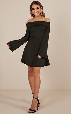 Invite Only Dress In Black