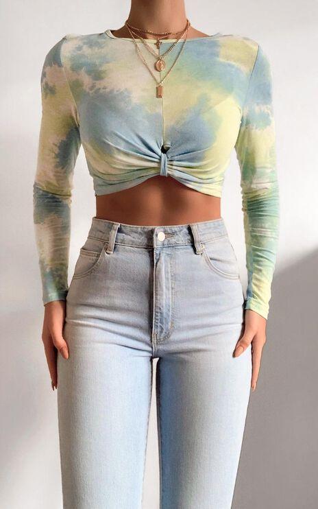 Binki Top in Multi Tie Dye