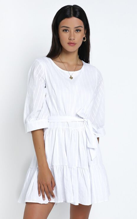 Cade Dress in White