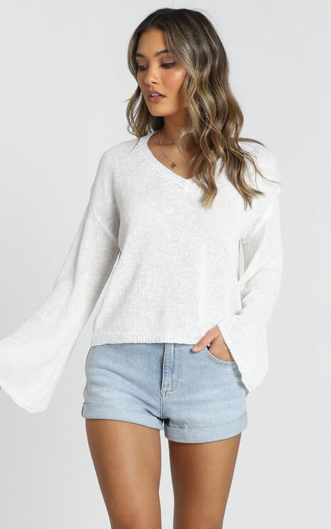 My Signature Knit In White