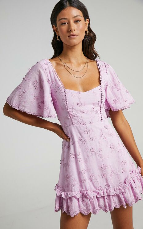 Fancy A Spritz Dress in Lilac