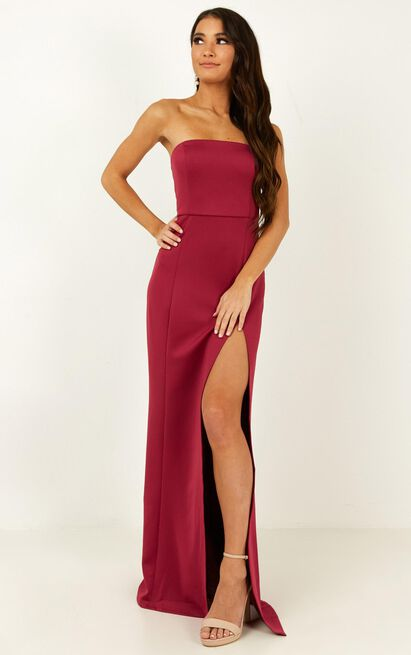 Look Sharp Dress In berry - 20 (XXXXL), Pink, hi-res image number null