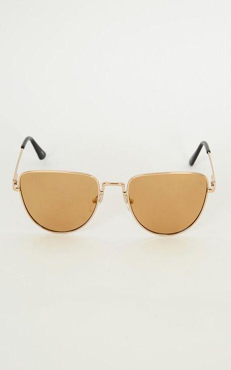 Treasured Lover Sunglasses In Gold