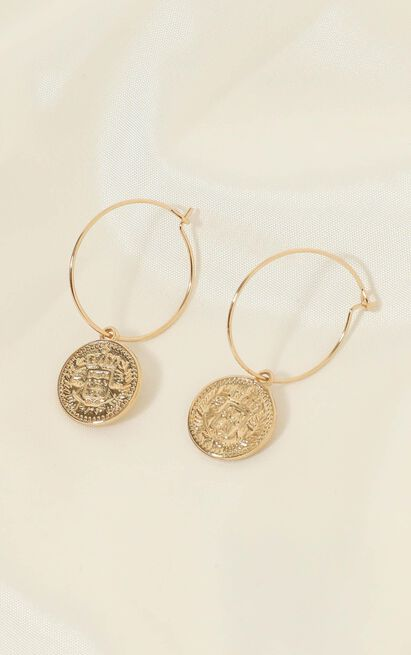Rich Girl Earrings In Gold, , hi-res image number null