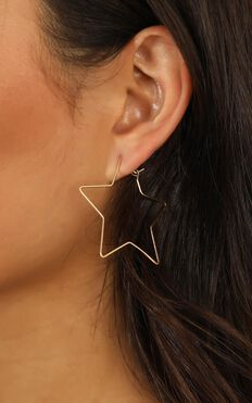 Anywhere With You Earrings In Gold