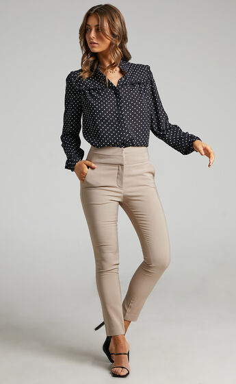 Hailey Trouser in Stone