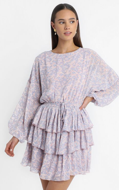 Paloma Dress in Pink Floral